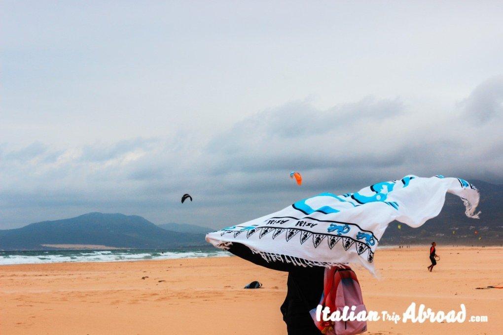 Tarifa-kitesurfing- Palyas de tarifa