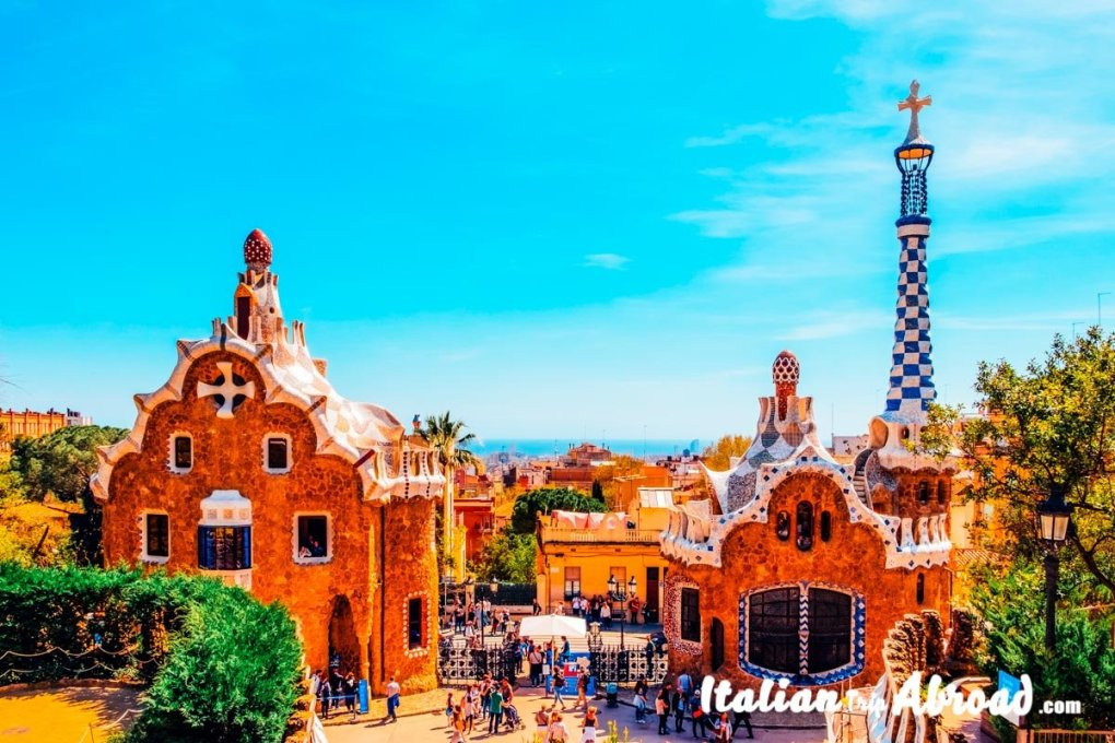 Park Guell, a masterpiece of Gaudì - Most instagrammable Places in Barcelona