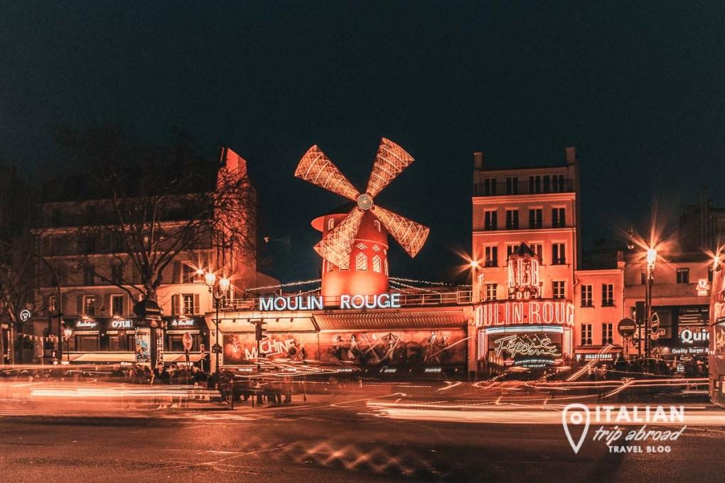 Mulin Rouge - 2 days in paris