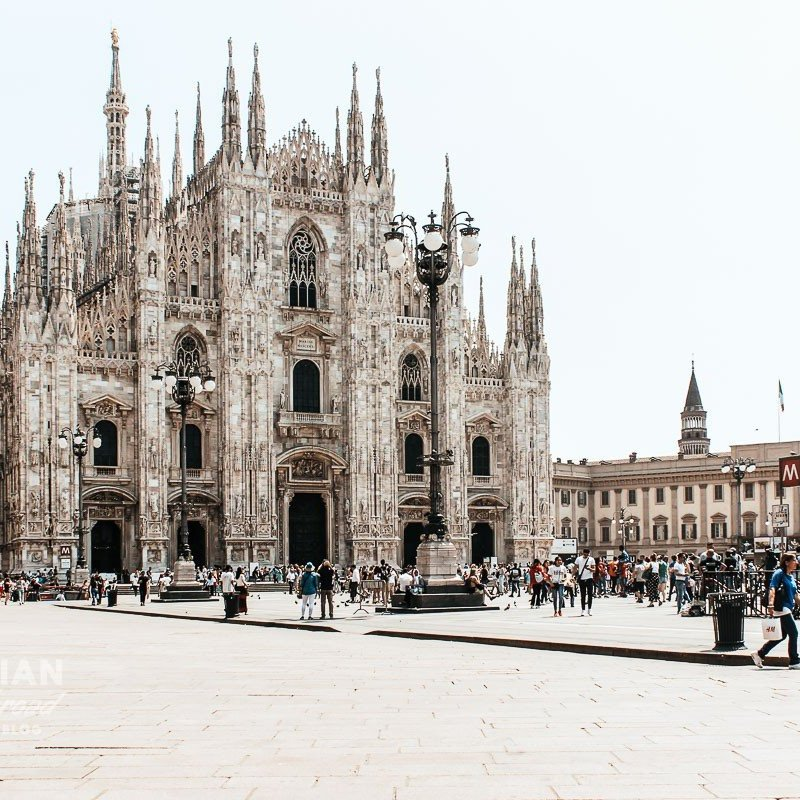 Milan itinerary in 1 day