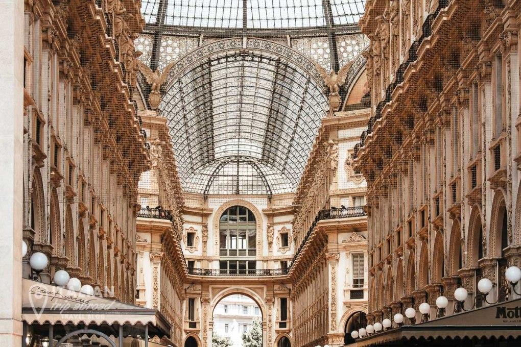 Two days in Milan Italy - Galleria Vittorio Emanuele