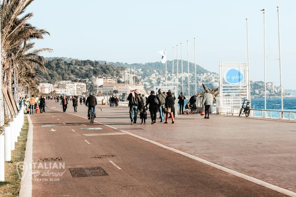 Things to do in Nice France in 1 day - Promenade des Angles in Nice France