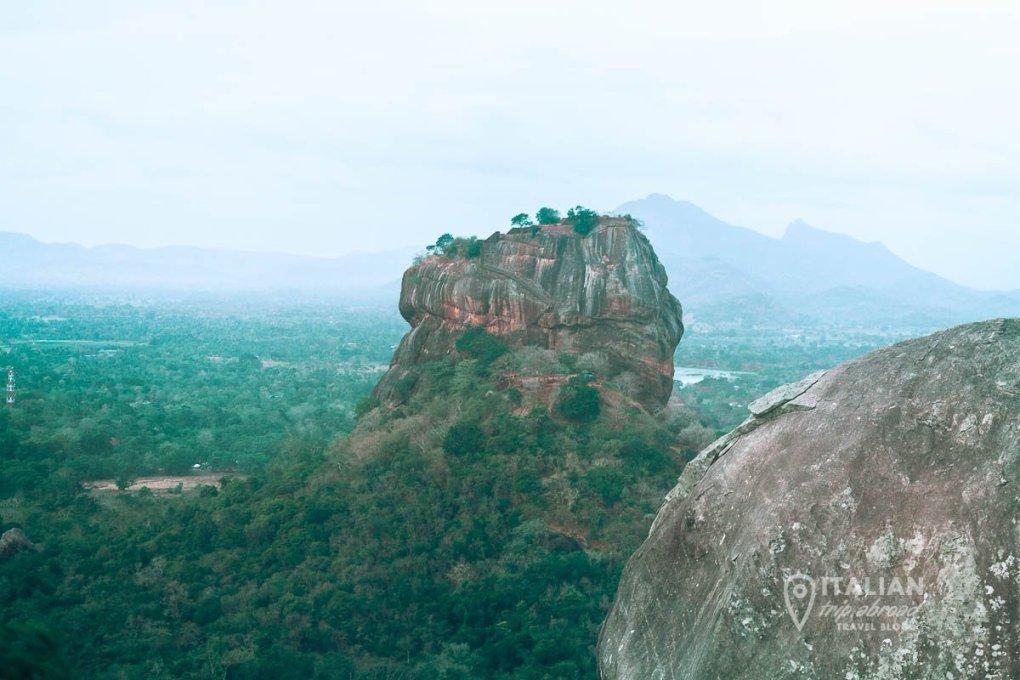 Pidurangala Rock Hike - View