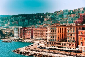 Naples in winter - Seaside view