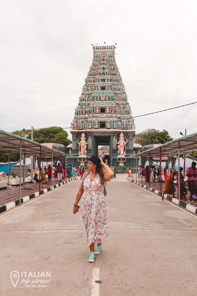 Hindu Temple of Nagadeepa - Nagapooshani Amman Temple (Hindu) - Jaffna - Sri Lanka