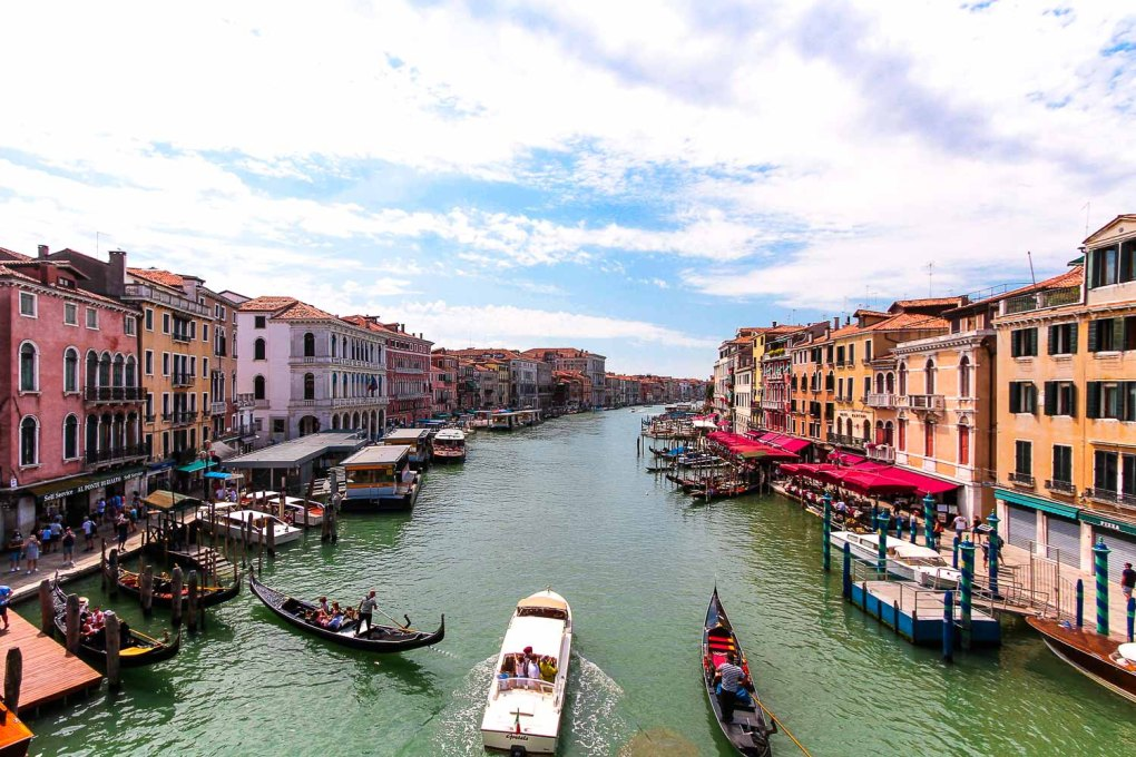 The Grand Canal of Venice - A romantic weekend in Venice, Italy