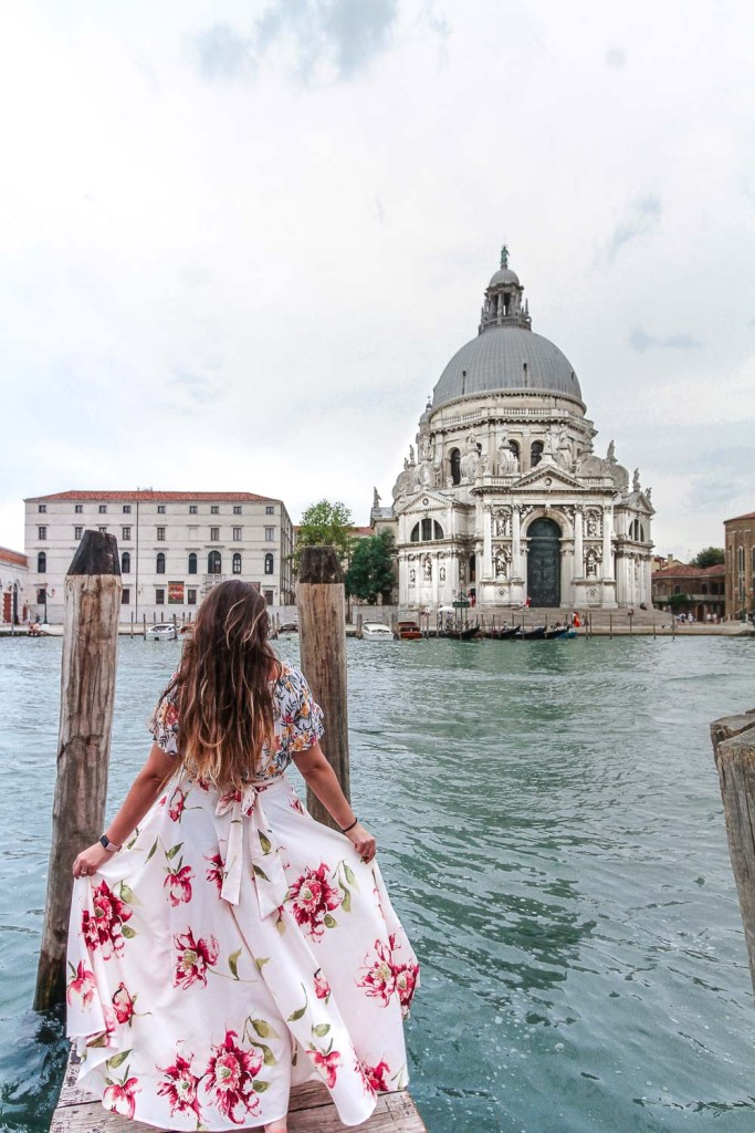 The Pier of the Basilica - Amazing photography spots in Venice