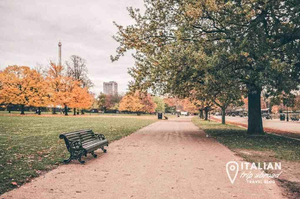 Hyde Park London | Autumn Colours in London