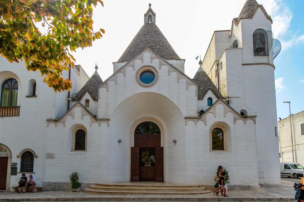 Chiesa di Sant'Antonio ' The Trullo Church of Alberobello
