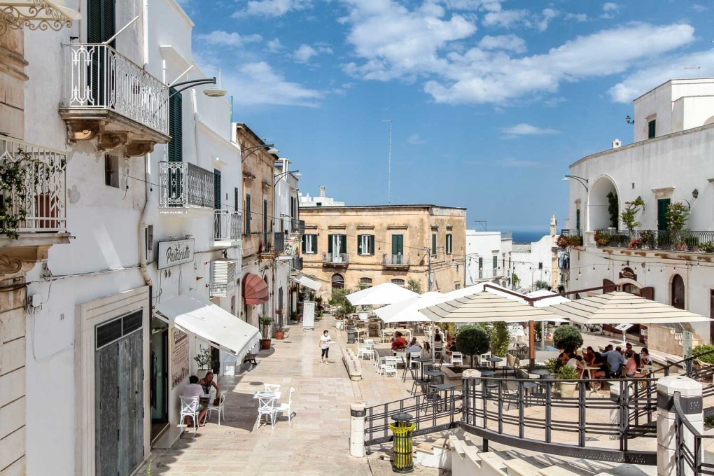 What to do in Ostuni - Sip a spritz like a local