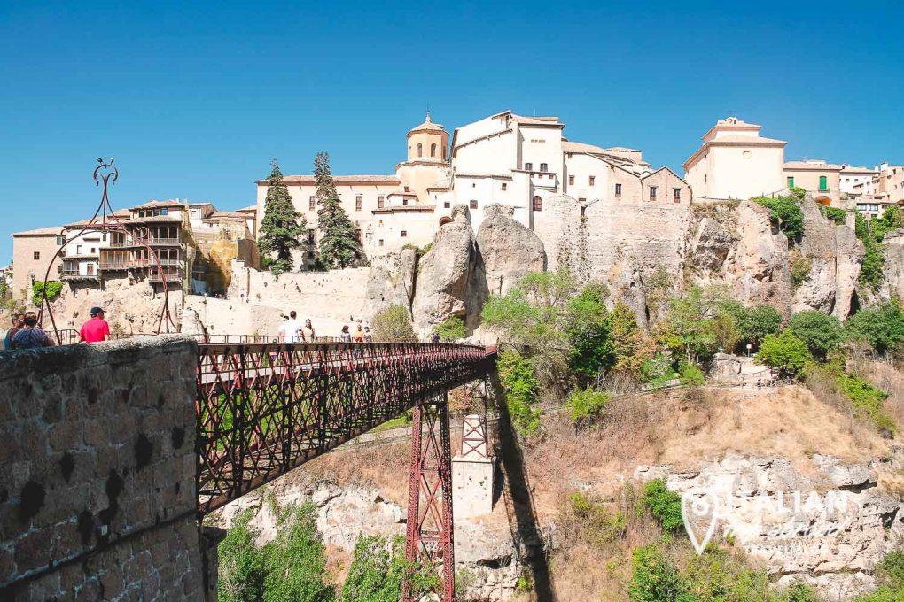 St. Paul Bridge Cuenca - Best views in Cuenca Spain