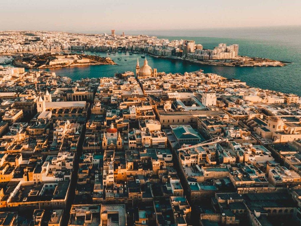 Valletta, Malta another romantic destinations in Europe