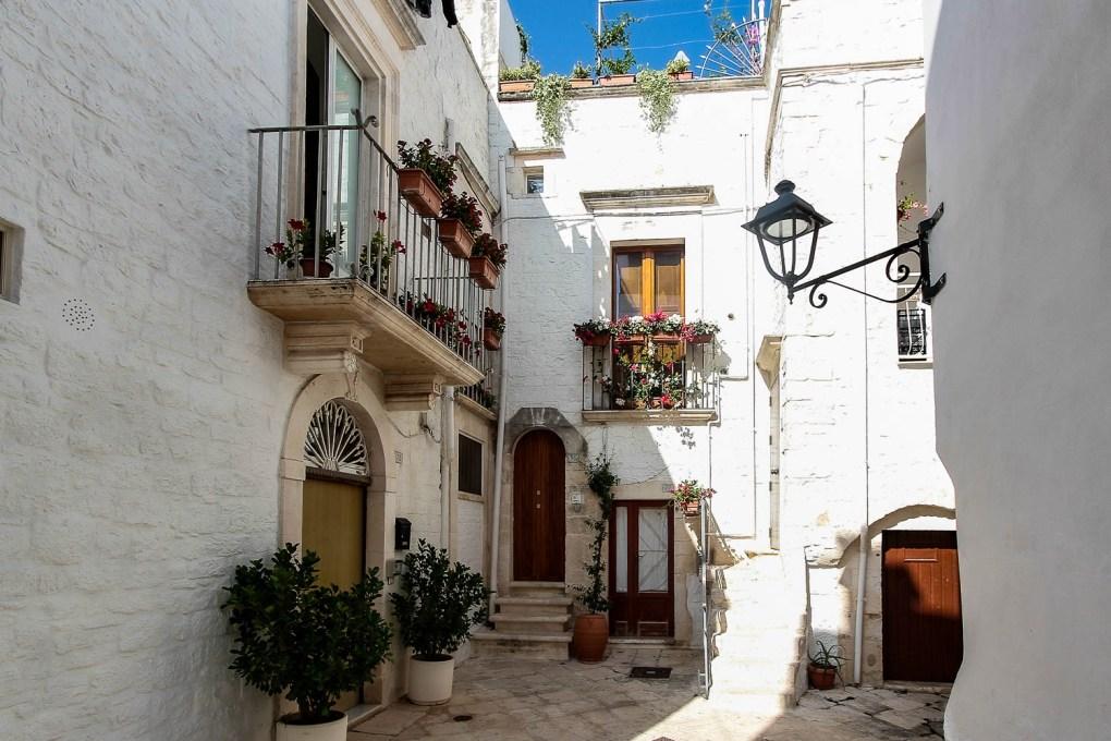 the historical city centre of Locorotondo