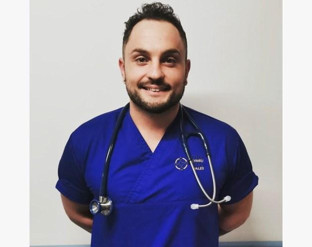 Fabio Caroprese, Emergency Medicine Nurse Practitioner.