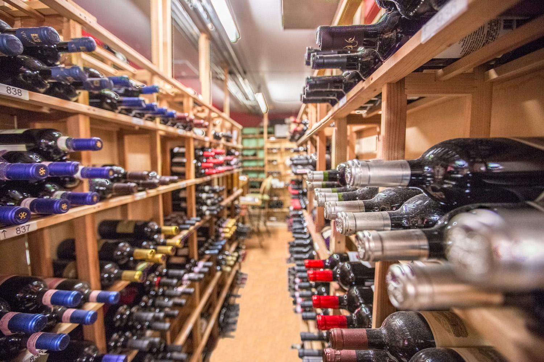 Wine Cellar of Italian Village Restaurants  Italian Wine