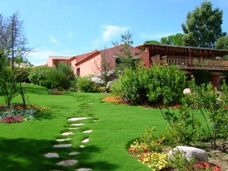 Villa vista Tavolara Giardino villa tavolara