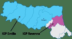 Major IGPs of Emilia Romagna