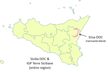 Sicilian DOPs and IGP