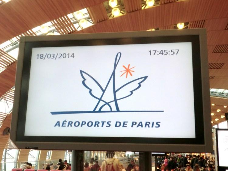 シャルルドゴール空港