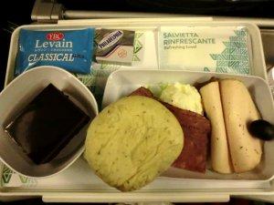 アリタリア航空朝食
