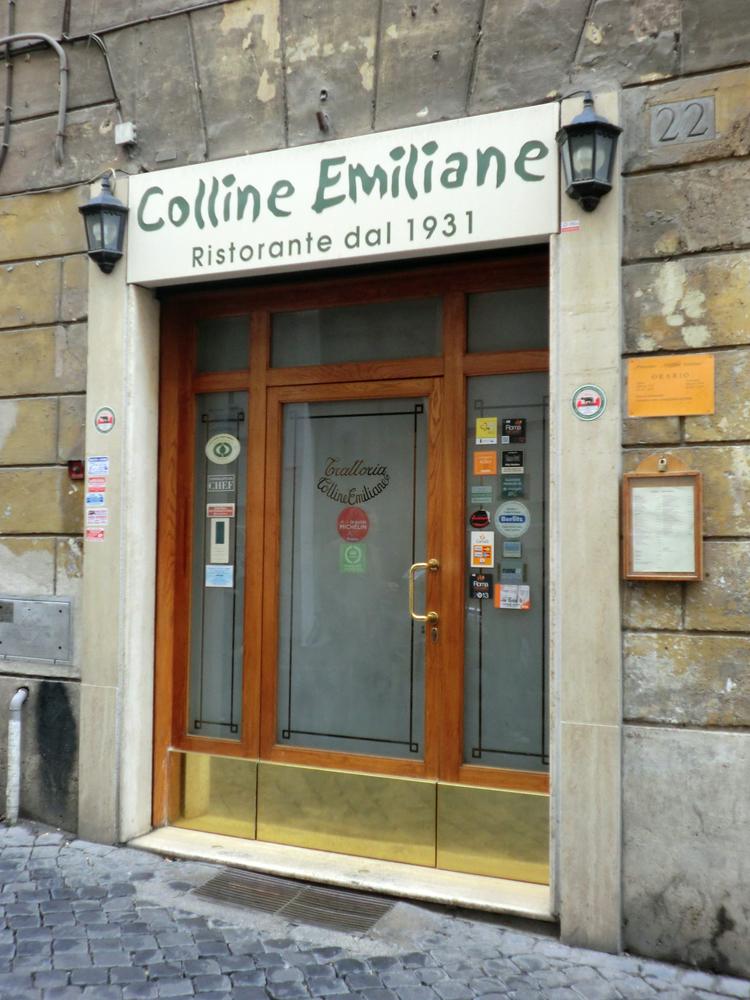 ローマのレストラン