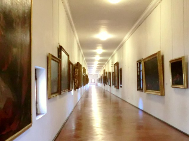 フィレンツェ ヴァザーリの回廊