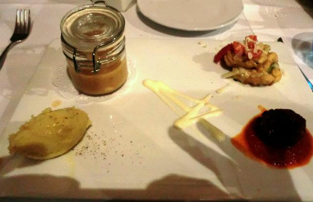 サレルノのレストラン