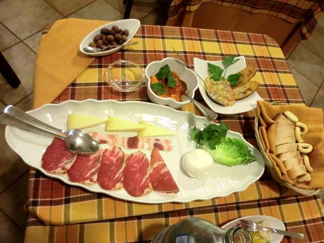 マルティーナ・フランカのレストラン