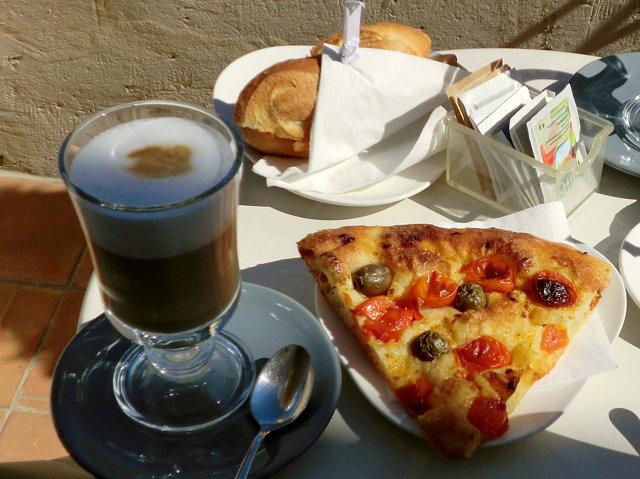 マテーラのカフェ