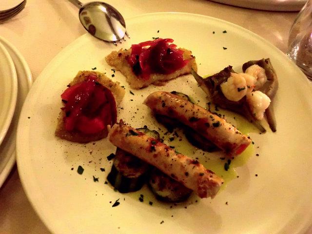 カルタジローネのレストラン