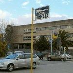 ピアッツァ・アルメリーナのバスターミナル