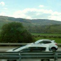 ピアッツァ・アルメリーナまでの道