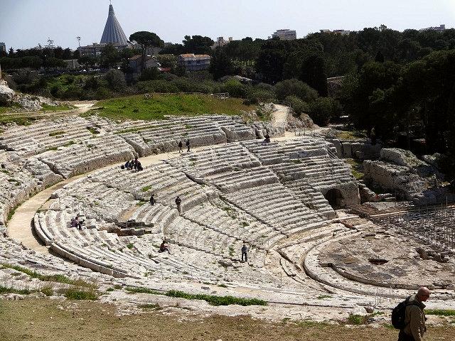 シラクーサのギリシャ劇場