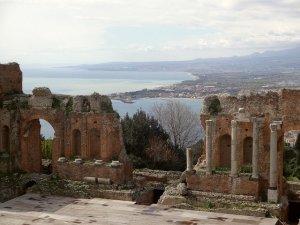 タオルミーナのギリシャ劇場