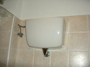 イタリアのトイレのレバー