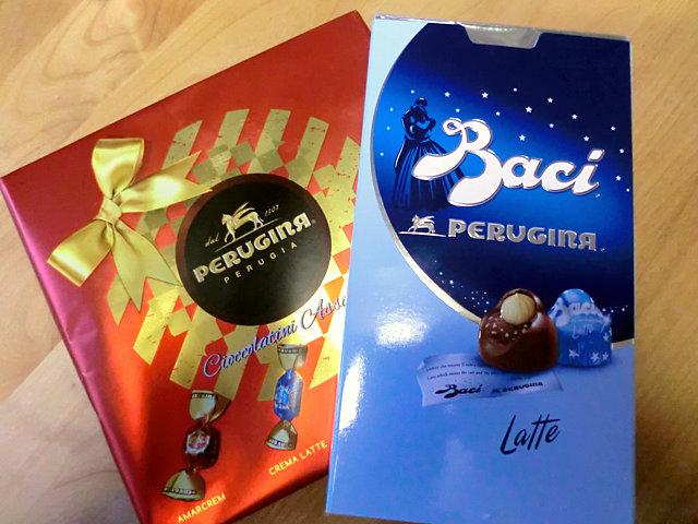 チョコレート「BACI」