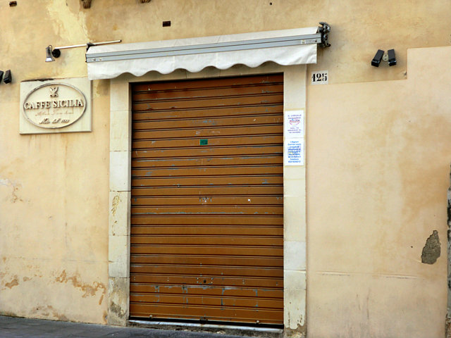 イタリアのお休みのお店