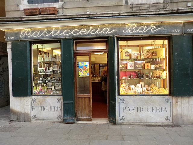 ヴェネツィアのお菓子屋さん