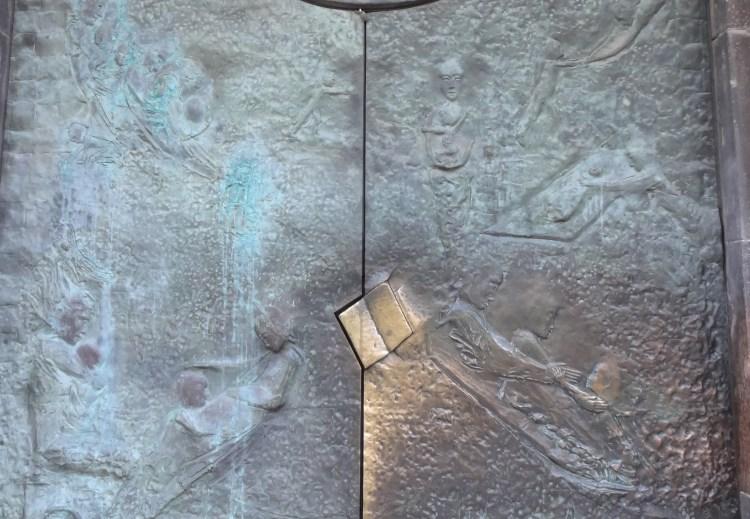 ボルツァーノのドゥオモ扉