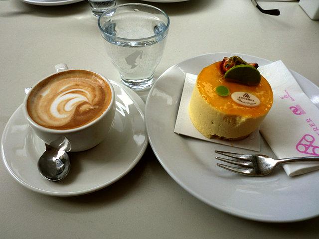ボルツァーノのケーキ屋さん