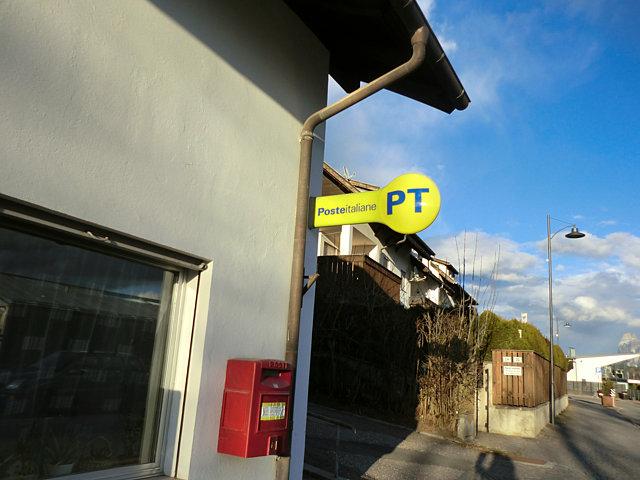 ソプラボルツァーノの郵便局