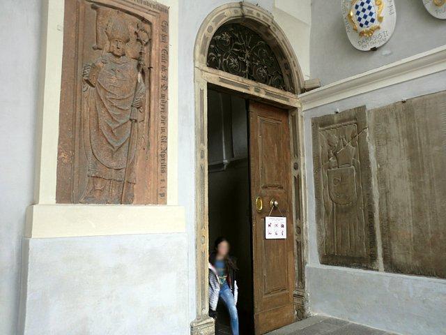 ブレッサノーネの回廊入り口