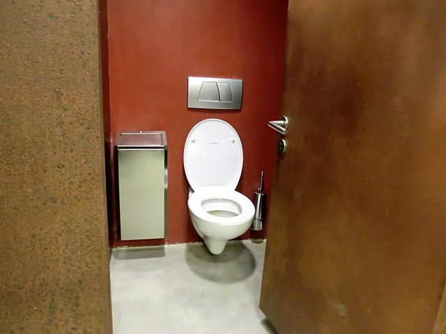 チロル城のトイレ