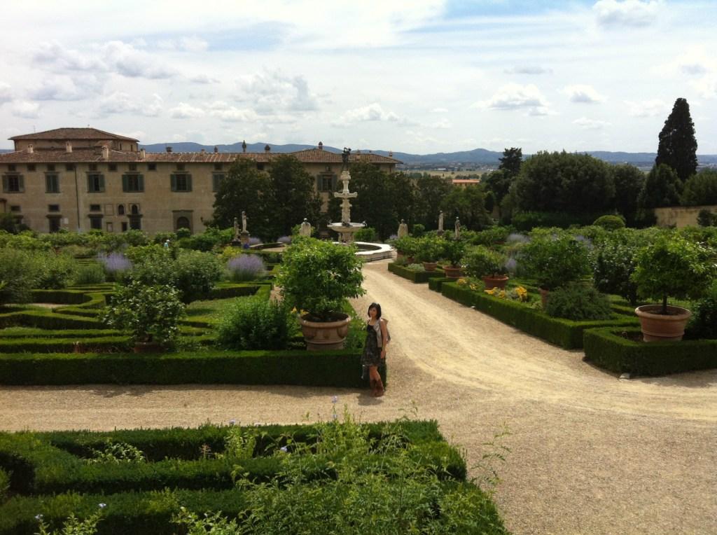 メディチ家の別荘 カステッロ荘 庭園