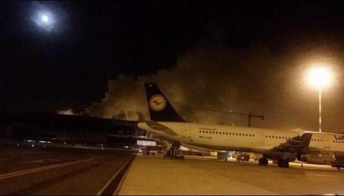 フィウミチーノ空港の火災