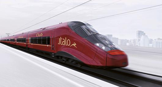 イタリアの高速列車イタロの料金設定とオンライン予約方法