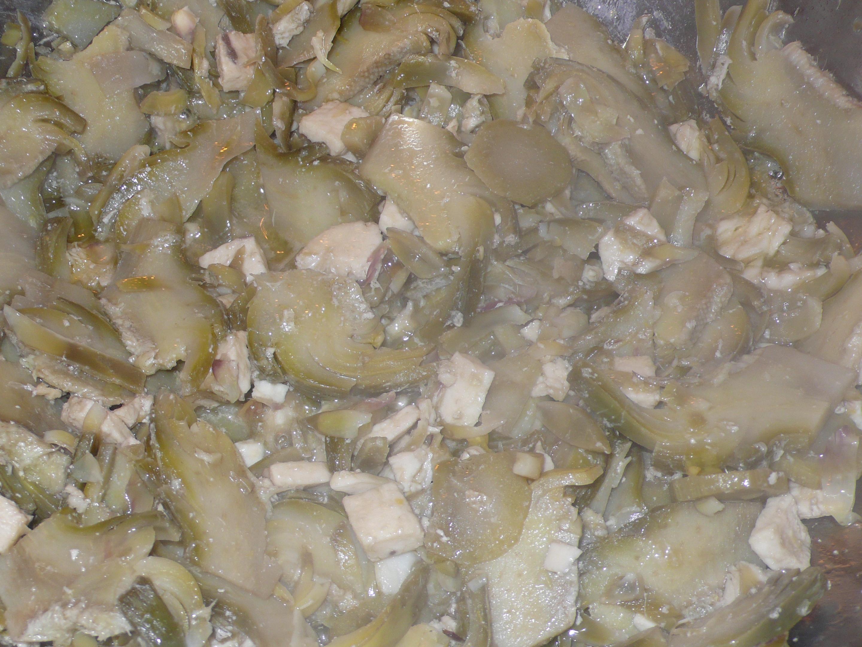 artichokes and swordfish