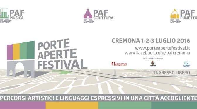 Porte Aperte Festival in Cremona