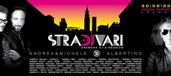 StraDJvari Open Air Disco in Cremona