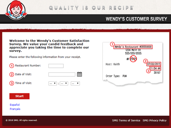 TalktoWendys: TalktoWendys Customer Survey [ Free Wendy's Coupon ]